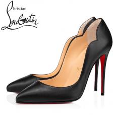Christian Louboutin Hot Chick 100-mm Nappa Leather - BLACK