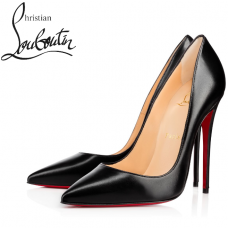 Christian Louboutin So Kate 120-mm Shiny Nappa Leather - BLACK