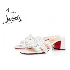Christian Louboutin Marmela 55 mm in Nappa Leather - WHITE
