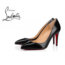 Christian Louboutin Pigalle 85 mm Pumps in Nappa Leather - BLACK
